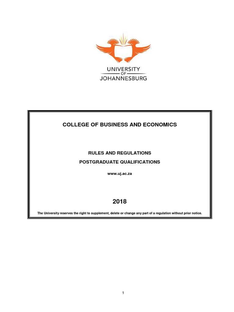 CBE PG Yearbook 2018 | Academic Degree | Postgraduate Education