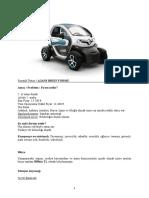 Renault Twizy Brief