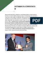 Business Success Story of Dr. L Jyothish Kumar