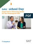 SAT Proctoring Supervisor Guide