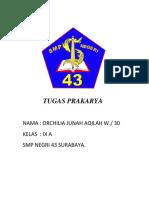 Tugas Prakarya Oci Baru