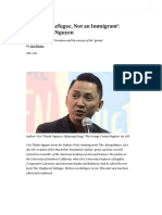 'Call Me a Refugee, Not an Immigrant'_ Viet Thanh Nguyen _ the Nation