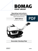 BOMAG BPR 70/70D Operators Manual