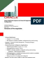 BI Applications Configuration