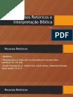 recursos retóricos e interprewtação bib.