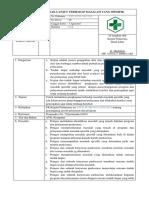 3. Sop Kajian Dan Tindak Lanjut Terhadap Masalah Spesifik Dalam Penyelenggaraan Program Dan Pelayanan
