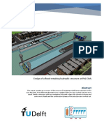 Design of a Flood-retaining Hydraulic Structure at Phú Dinh - 2016