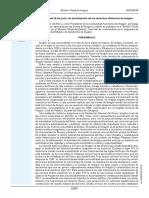 LEY 8-2018, De 28 de Junio, Actualización Derechos Históricos de Aragón