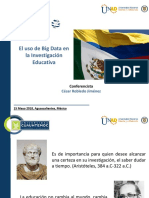 El uso de Big Data en la Investigación Educativa UNAD_Colombia_César Robledo Jiménez.pptx