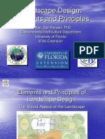 Landscape Design Elements and Principles