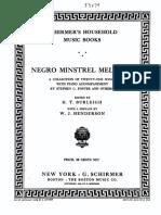 Burleigh, Harry Thacker-Negro Minstrel Melodies