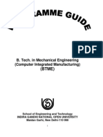 Student HandBook BTME01