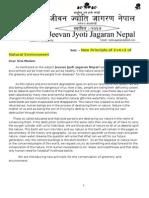 - New Principle of 2+4+2 of Natural Environment..Nepal Kathmandu