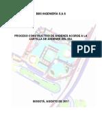 Proceso Constructivo Andenes Tipo Idu