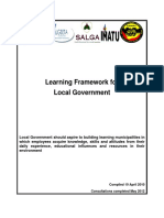 Learning Qual Framework for Local Government