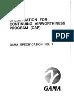 Gama Specification 7 Cap March 1991 PDF 498cabf622