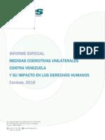 Informe Medidas Unilaterales Coercitivas. Sures