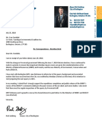 Letter from Mayor Goldring to TEC - July 25