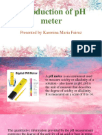 Introduction of PH Meter