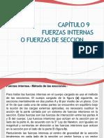 CAP 9. Fuerzas Internas y Vigas