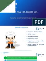 Informe Final HSE (Dossier HSE)