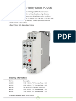 PTC Thermistor Relay Series PD 225 | GIC INDIA