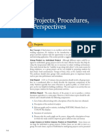 Chapter 15 Projects, Procedures, Perspectives