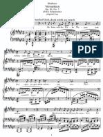 Brahms - Versunken Op 86 No 5