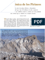 Geotectonica de Los Pirineos