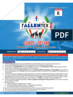 TALENT EXsampleX50