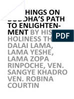 Buddhas Path to Enlightenment 8-3-2017