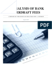 An Analysis of Bank Overdraft Fees Final