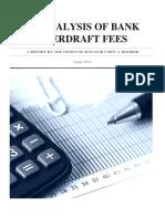 An Analysis of Bank Overdraft Fees Final