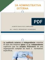 auditoria administrativa externa