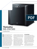 Yamaha Subwoofer Guide