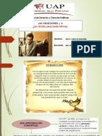 Las Objeciones y Declaracion Previa
