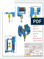Dimension Sheet 10t Hoist