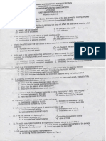 Basic Accounting - Midterm 2010