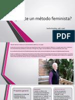 ¿Existe un método feminista? presentación