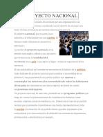 Proyecto Nacional