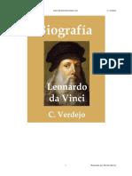 Biografia de Leonardo Da Vinci - C. Verdejo