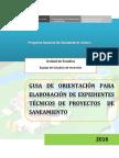 Guía de orientación para elaboración de expedientes técnicos de proyectos de saneamiento .pdf