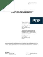mtbf power optical budget.doc