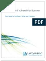 Lumension Vulnerability Scanner User Guide
