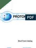 Protokraft Short Form Catalog