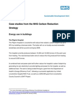 Case Studies From the Nhs Carbon Reduction Stra