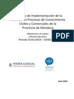 Indicadores Oralidad Civil Mendoza