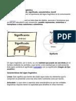 Signo Linguístico 7mo Grado