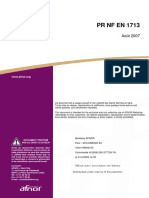PR NF EN 1713 2007