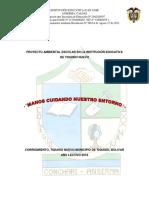 PROYECTO AMBIENTAL ESCOLAR EN LA INSTITUCIÓN EDUCATIVA.docx